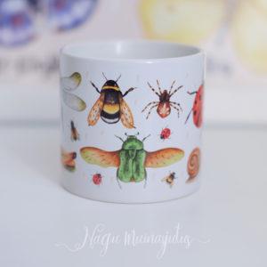 Putukatega kruus, tass lastele.
