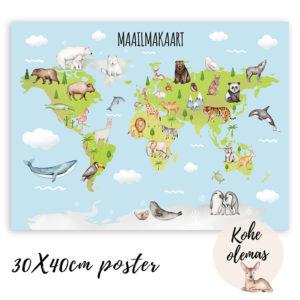 Maailmakaardi poster
