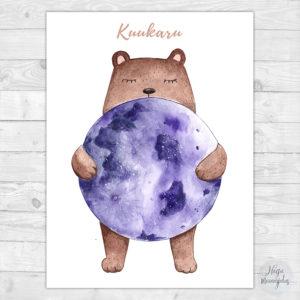 Kuuga karu poster