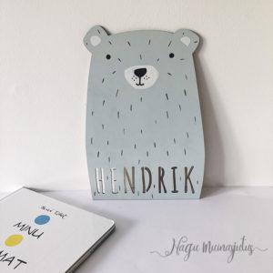 Karu nimesilt
