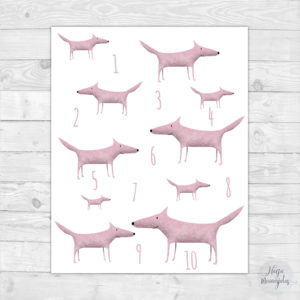 Roosad hundid poster