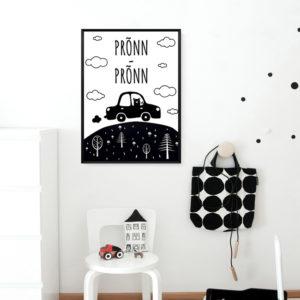 Auto Prõnn-prõnn poster