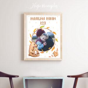 Isadepäeva personaalne poster, kingiidee isale